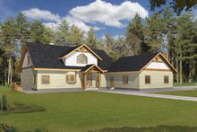 Craftsman Exterior - Front Elevation Plan #117-841