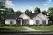 Farmhouse Style House Plan - 4 Beds 2 Baths 1992 Sq/Ft Plan #430-225 Exterior - Front Elevation