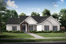 Home Plan - Farmhouse Exterior - Front Elevation Plan #430-225