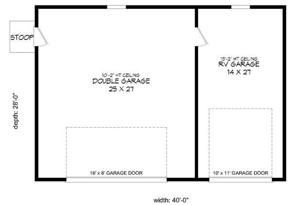 Country Floor Plan - Main Floor Plan Plan #932-141