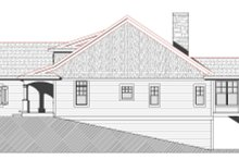 Dream House Plan - Traditional Exterior - Other Elevation Plan #901-144