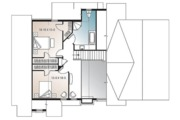 Cottage Style House Plan - 3 Beds 2.5 Baths 1909 Sq/Ft Plan #23-417 Floor Plan - Upper Floor