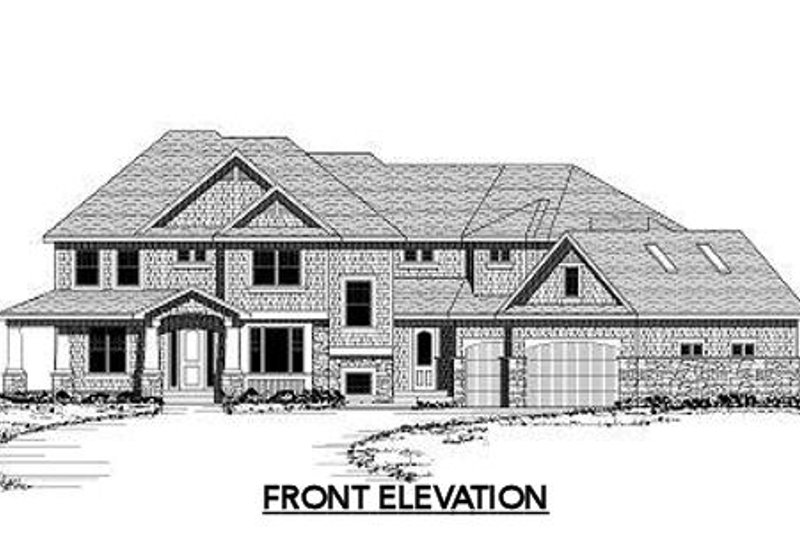 Traditional Exterior - Other Elevation Plan #51-326 - Houseplans.com