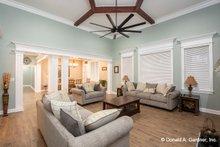 Home Plan - Ranch Interior - Family Room Plan #929-1050