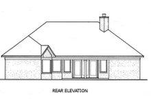 Home Plan - European Exterior - Rear Elevation Plan #45-245