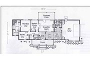 Traditional Style House Plan - 3 Beds 2.5 Baths 1562 Sq/Ft Plan #310-895 Floor Plan - Main Floor