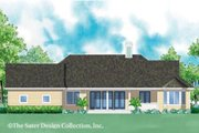 Ranch Style House Plan - 3 Beds 2 Baths 2454 Sq/Ft Plan #930-244 Exterior - Rear Elevation