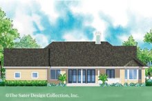 Home Plan - Ranch Exterior - Rear Elevation Plan #930-244