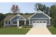 Craftsman Style House Plan - 2 Beds 2.5 Baths 1592 Sq/Ft Plan #928-164 Exterior - Front Elevation