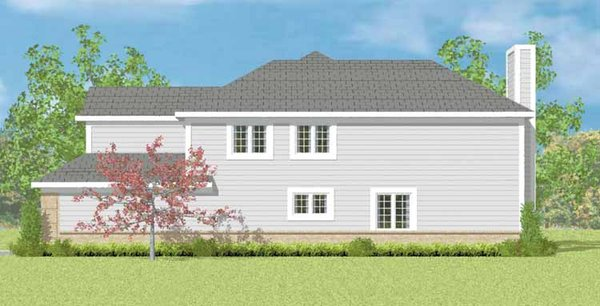 Traditional Floor Plan - Other Floor Plan Plan #72-1084