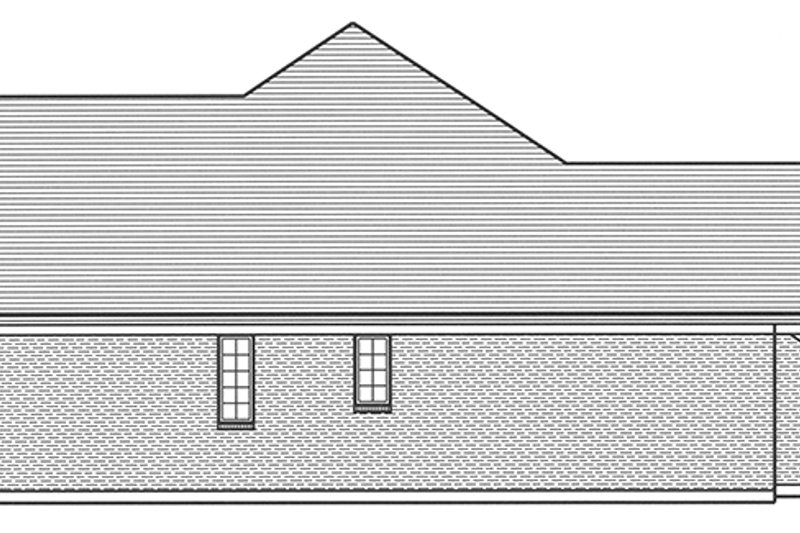 European Exterior - Other Elevation Plan #46-851 - Houseplans.com