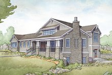 Craftsman Exterior - Front Elevation Plan #928-295