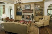 Country Style House Plan - 3 Beds 3 Baths 4703 Sq/Ft Plan #928-183 Interior - Family Room