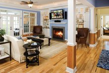 Home Plan - Country Interior - Family Room Plan #929-694