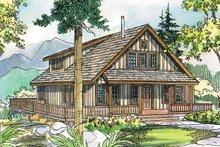 House Plan Design - Cottage Exterior - Front Elevation Plan #124-473