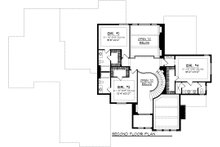 European Floor Plan - Upper Floor Plan Plan #70-1094