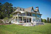 Craftsman Style House Plan - 6 Beds 4.5 Baths 3877 Sq/Ft Plan #928-252 Exterior - Rear Elevation