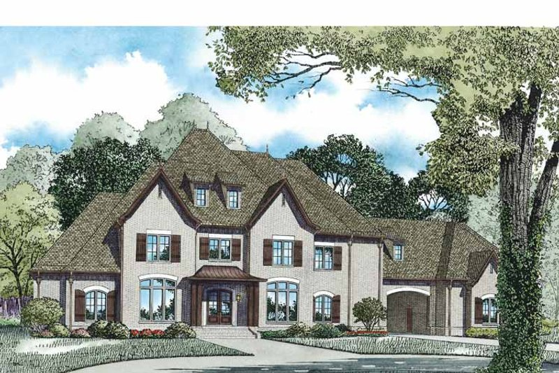 Country Exterior - Front Elevation Plan #17-3346 - Houseplans.com