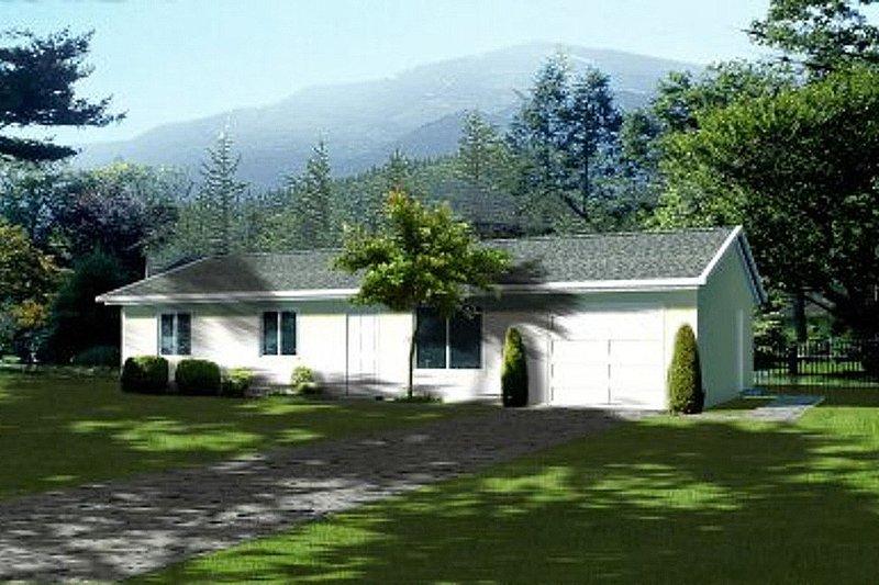 House Design - Ranch Exterior - Front Elevation Plan #1-150