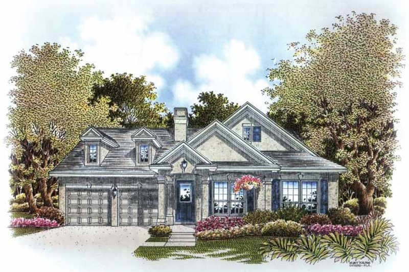 Colonial Exterior - Front Elevation Plan #999-168 - Houseplans.com