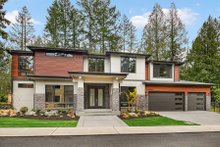 House Plan Design - Contemporary Exterior - Front Elevation Plan #1066-14