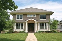 House Design - Colonial Exterior - Front Elevation Plan #928-220