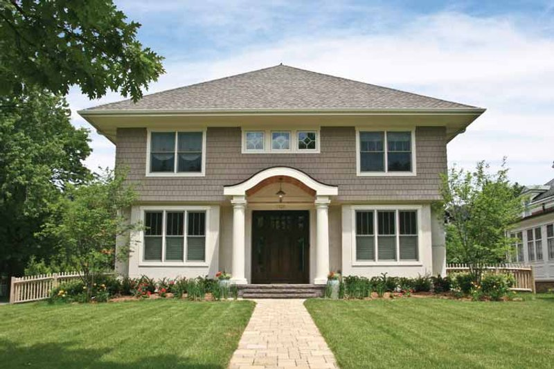 House Plan Design - Colonial Exterior - Front Elevation Plan #928-220