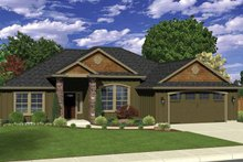Home Plan - Ranch Exterior - Front Elevation Plan #943-33