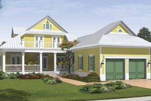 House Plan Design - Traditional Exterior - Rear Elevation Plan #930-405