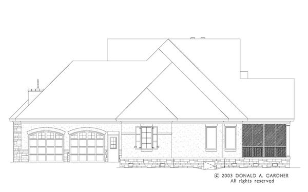 Dream House Plan - European Floor Plan - Other Floor Plan #929-942