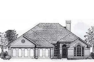 Traditional Exterior - Front Elevation Plan #310-798
