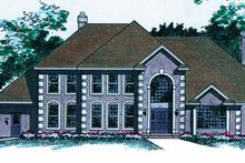 Traditional Exterior - Front Elevation Plan #51-932