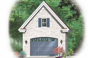 Dream House Plan - Exterior - Front Elevation Plan #23-2473