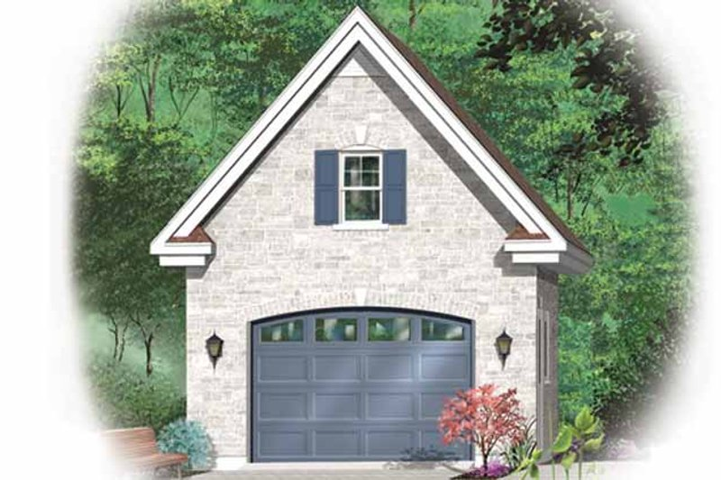Architectural House Design - Exterior - Front Elevation Plan #23-2473