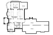 Craftsman Style House Plan - 4 Beds 4.5 Baths 4860 Sq/Ft Plan #928-235 Floor Plan - Lower Floor Plan