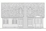 Southern Style House Plan - 3 Beds 2.5 Baths 2020 Sq/Ft Plan #137-293 Exterior - Rear Elevation