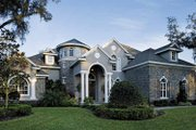 European Style House Plan - 4 Beds 4.5 Baths 5196 Sq/Ft Plan #930-361 Exterior - Front Elevation