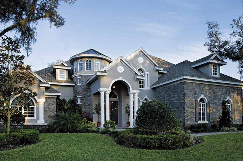 Home Plan - European Exterior - Front Elevation Plan #930-361