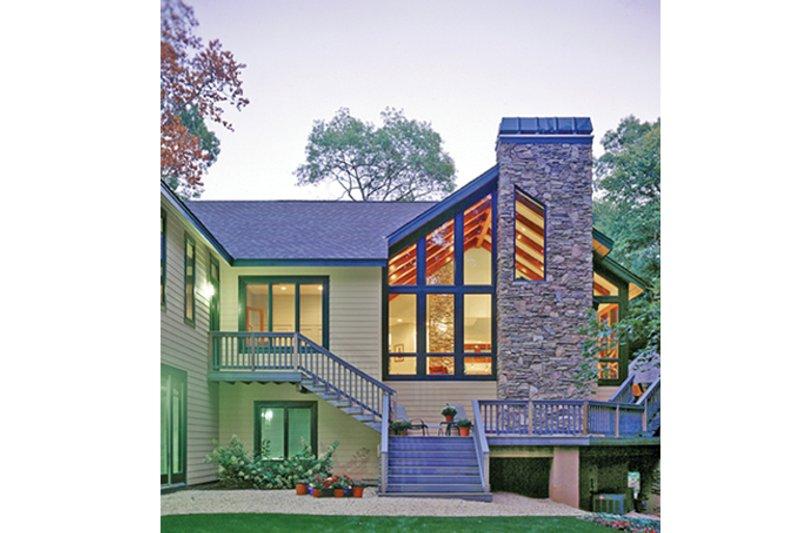 Contemporary Exterior - Rear Elevation Plan #314-287 - Houseplans.com