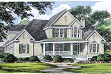 Country Exterior - Front Elevation Plan #929-359
