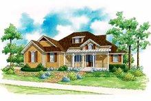 Architectural House Design - Craftsman Exterior - Front Elevation Plan #930-191