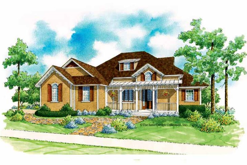 Craftsman Exterior - Front Elevation Plan #930-191