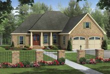 House Plan Design - Traditional Exterior - Front Elevation Plan #21-426