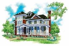 Architectural House Design - Victorian Exterior - Front Elevation Plan #930-200
