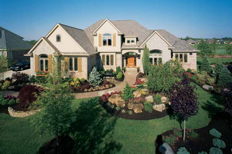 Country Exterior - Front Elevation Plan #46-687 - Houseplans.com