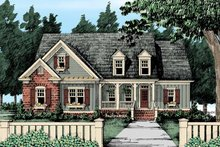 House Design - Country Exterior - Front Elevation Plan #927-305