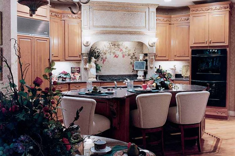Country Interior - Kitchen Plan #46-648 - Houseplans.com