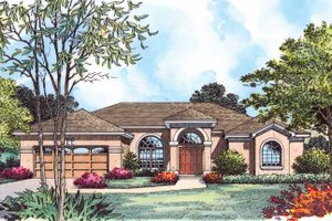 Contemporary Exterior - Front Elevation Plan #1015-8