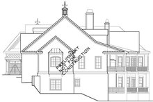 Home Plan - European Exterior - Other Elevation Plan #927-966