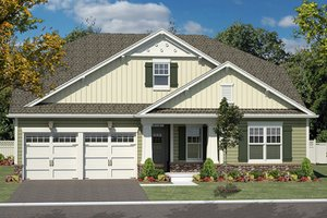Craftsman Exterior - Front Elevation Plan #316-281